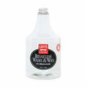 Griot's Garage Rinseless Wash & Wax 15:1 Dilution Bottle