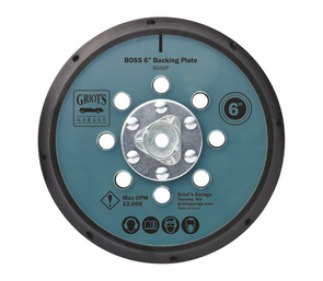 "Griots Garage BOSS 6"" Backing Plate"