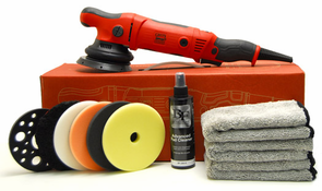 Griots Garage BOSS G15 Long Throw Orbital Polisher Starter Kit <font color=blue>Choose Your Pads!</font>