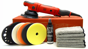 Griots Garage BOSS G21 Long Throw Orbital Polisher Starter Kit <font color=blue>Choose Your Pads!</font>