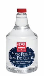 Griots Garage Micro Fiber & Foam Pad Cleaner 35 oz.
