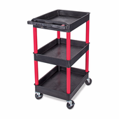 Griots Garage Rolling Cart with Outlets