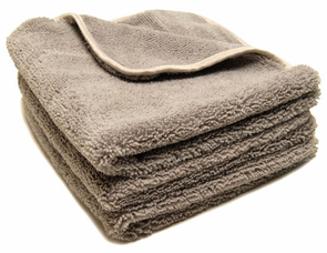 Gun Metal Elite Microfiber Towel with Absorbent Banding - 3 Pack