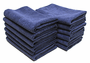Indigo All Purpose Microfiber Towels- 12 Pack