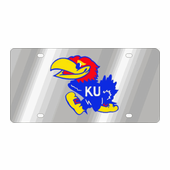 Kansas Jayhawks NCAA Team License Plate