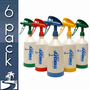 Kwazar Mercury Pro + 1 Liter Spray Bottle (33 oz) - 6 Pack
