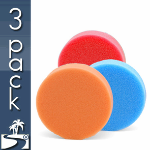 Lake Country Hydro-Tech 4 x 1.25 Inch Foam Pads 3 Pack - You Pick!