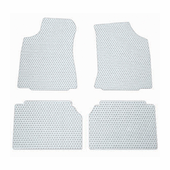 Lloyd Rubber Tite Mats Clear Front and Rear