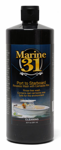 Marine 31 Port to Starboard Rinseless Wash with Carnauba Wax