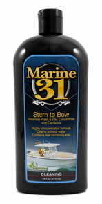 Marine 31 Stern to Bow Waterless Wash & Wax Concentrate with Carnauba