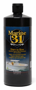 "<font color=""ff0000"">BUY ONE - GET ONE FREE -</font> Marine 31 Stern to Bow Waterless Wash & Wax Concentrate with Carnauba 32 oz."
