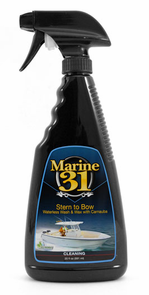 Marine 31 Stern to Bow Waterless Wash & Wax with Carnauba