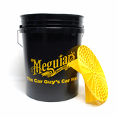 Meguiars 5 Gallon Professional Wash Bucket with Grit Guard