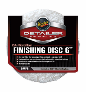 Meguiars DA Microfiber Finishing Discs, 6 Inches