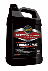 Meguiars DA Microfiber Finishing Wax 128 oz.