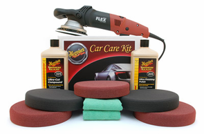 Meguiars FLEX 3401 Soft Buff Polishing Kit