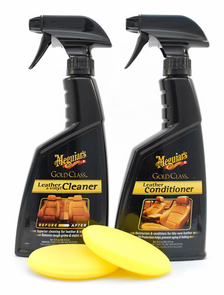 Meguiars Gold Class Leather Kit