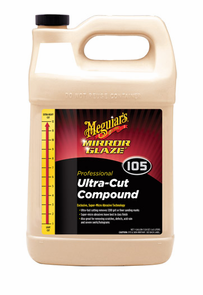 Meguiars Mirror Glaze #105 Ultra-Cut Compound 128 oz.