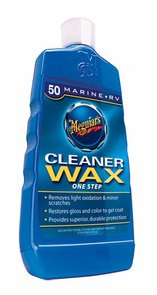 Meguiars Mirror Glaze #50 Marine/RV Cleaner Wax