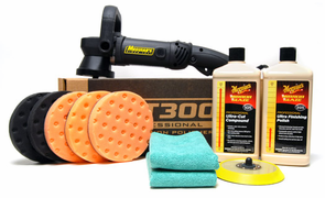 Meguiars MT300 Ultra Polish Kit with 5.5 Inch Pads <font color=red>FREE BONUS</font>