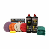 Menzerna Complete Ceramic 5.5 Inch Polishing Pad Kit