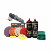Menzerna Porter Cable 7424 XP Ceramic 5.5 Inch Polishing Pad Kit <font color=red><strong>FREE BONUS</font></strong>