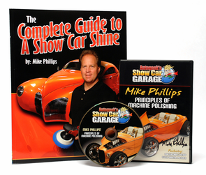 Mike Phillips' Show Car Shine Book & DVD Combo