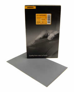 Mirka WPF P2500 Sanding Sheets, 50 per box