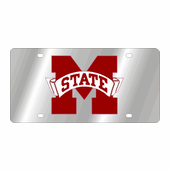 Mississippi State Bulldogs NCAA Team License Plate