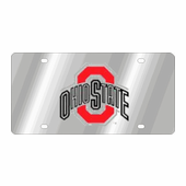 Ohio State Buckeyes NCAA Team License Plate