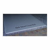 Park Smart Heavy Duty Clean Park Garage Mat
