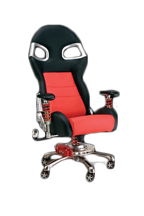 Pitstop Lxe Series Office Chair Red