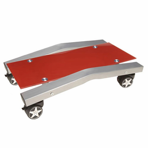 PitStop Furniture Computer Tower Stand-RED