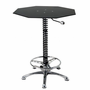 PitStop Furniture Crew Chief Bar Table-BLACK