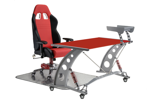 Pitstop Gt Spoiler Desk Red Glass Top Furniture Spoiler Fixing Prices According To Quality Of Products