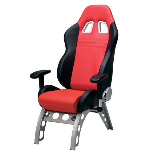Pitstop Gt Receiver Office Chair Red