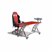 PitStop GT Complete Office Furniture Set - RED DESK
