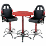 PitStop Crew Chief Café Set-RED table