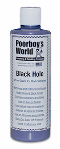Poorboy's World Black Hole Show Glaze for Dark Vehicles