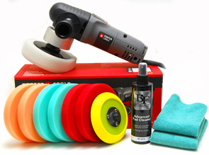 Porter Cable 7424xp Buff & Shine 5.5 inch Pad Kit<font color=red><strong> FREE BONUS</font></strong>