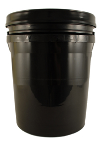 Professional 5 Gallon Car Wash Bucket - BLACK