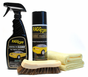 raggtopp fabric convertible top cleaner protectant kit. Black Bedroom Furniture Sets. Home Design Ideas