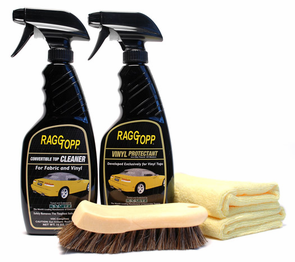RaggTopp Vinyl Convertible Top Cleaner & Protectant Kit