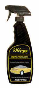RAGGTOPP Vinyl Convertible Top  Protectant