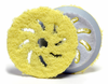 Rupes 150 mm (6 Inch) Yellow Microfiber Finishing Pad, 2 Pack