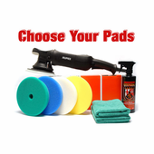 Rupes LHR 21 MarkII 7 Inch Pad Kit � Choose Your Own Pads! <font color=red>FREE SHIPPING</font>