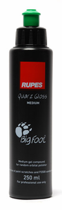 Rupes Quarz Gloss Medium Gel Compound 8.4 oz.