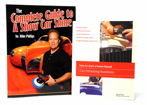 Show Car Shine Detailing Book Combo