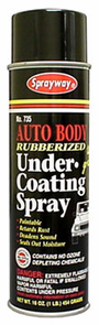 Sprayway Auto Body Rubberized Under-Coating Spray