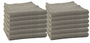 Storm Gray Edgeless Microfiber Polishing Cloth- 12 Pack